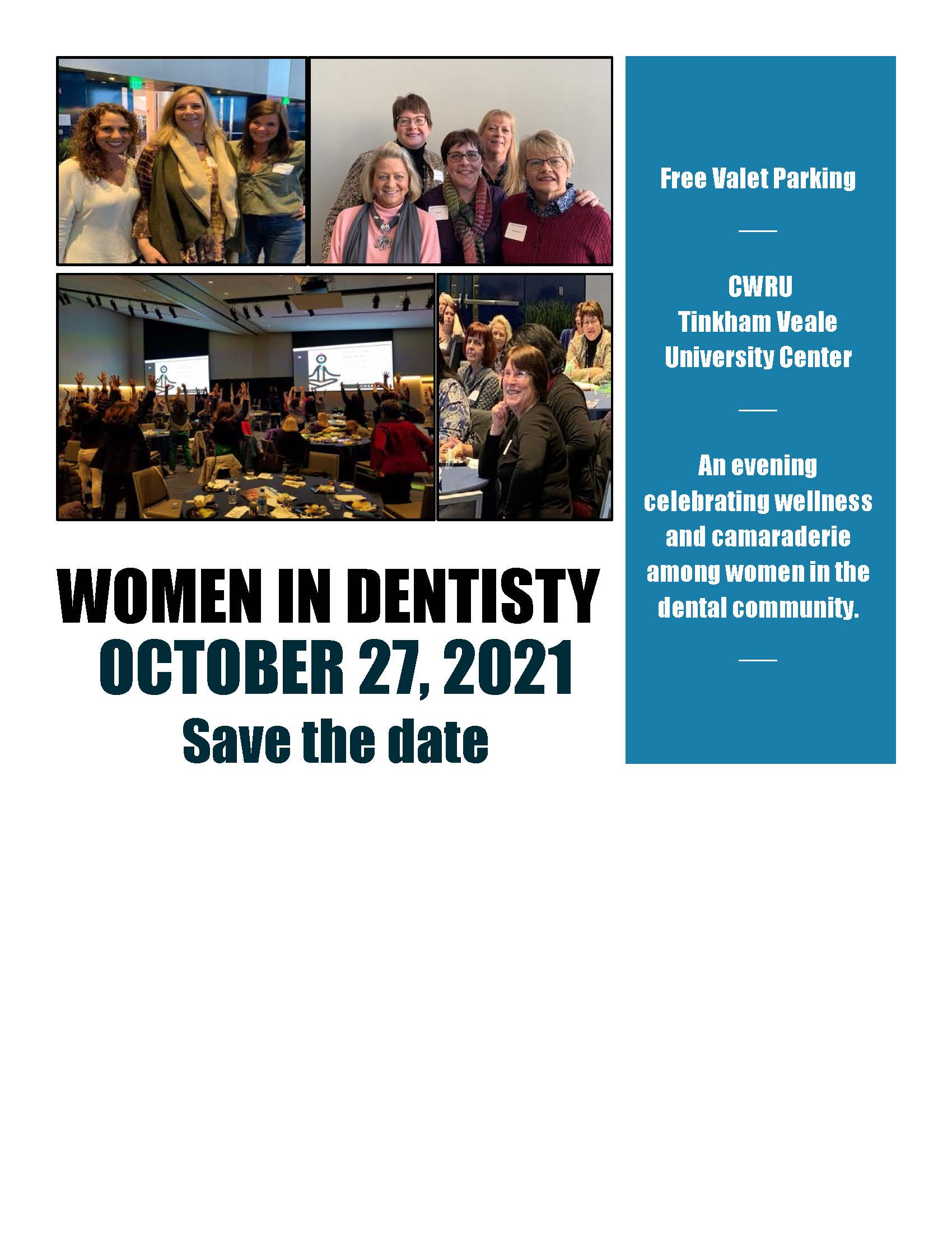 Women in Dentistry 2021 Save the Date